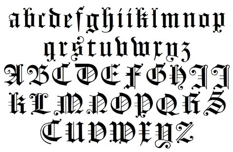 Gothic Letters | www.imgkid.com   The Image Kid Has It!