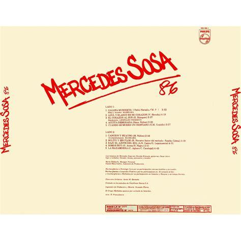 Gracias A La Vida   Mercedes Sosa mp3 buy, full tracklist