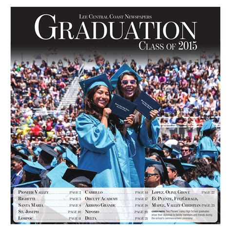 Graduation Class of 2015 by Lee Central Coast Newspapers ...