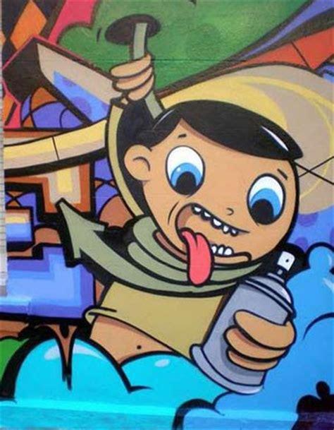 Graffiti News: CARTOON CHARACTER DESIGN STYLE GRAFFITI MURAL
