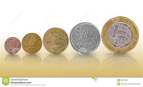 Gráfico Real Brasileño Del Crecimiento De La Moneda Imagen ...