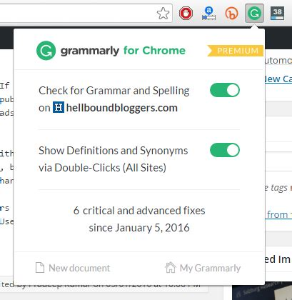 Grammarly: Works Great in Correcting Spelling Mistakes ...