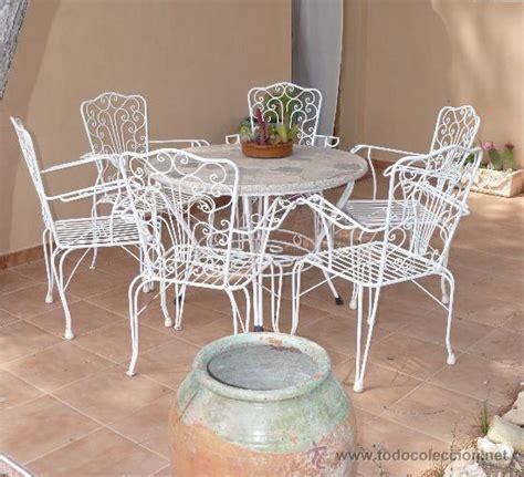 gran mesa jardin antigua vintage forja hierro b   Comprar ...
