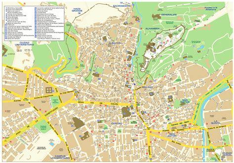 Granada Mapa | threeblindants.com