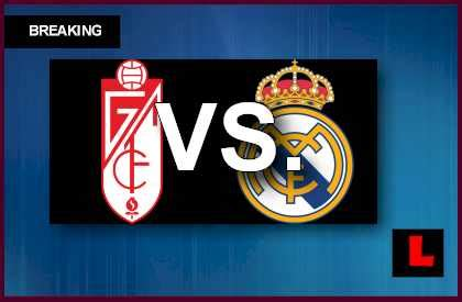 Granada vs. Real Madrid 2013 Prompts Primera Soccer Game Today