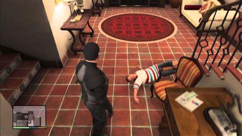 Grand Theft Auto 5 - Rare Mission Michael KILL's Jimmy ...
