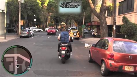 Grand Theft Auto En La Vida Real - YouTube