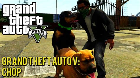 Grand Theft Auto V: Mission #5   Chop   YouTube