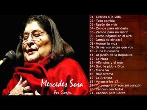 Grandes éxitos Mercedes Sosa   Musique   Pinterest ...