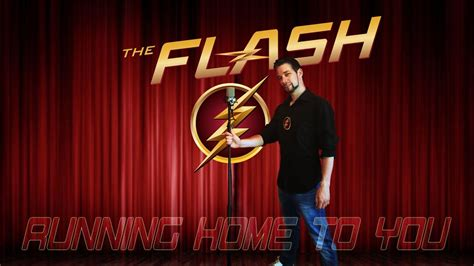 Grant Gustin   Running home to you  Band version cover by ...