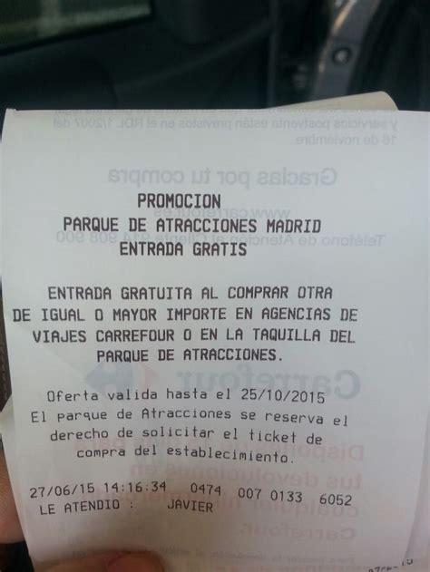 Gratis la entrada al parque de atracciones de Madrid ...