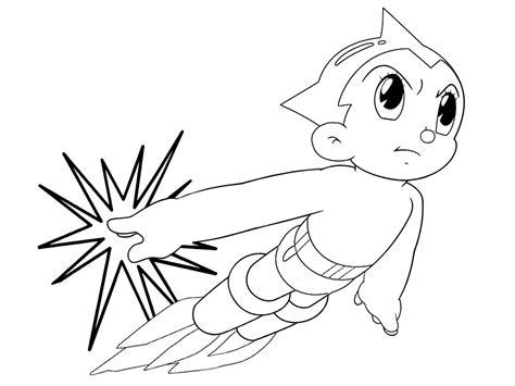 Gratuitos dibujos para colorear – Astroboy, descargar e ...
