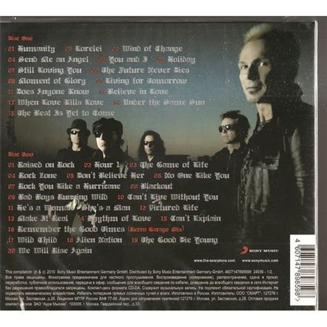 Greatest hits by Scorpions, CD x 2 with rockinronnie   Ref ...