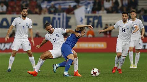Grecia 0 0 Croacia: resultado y resumen del partido   AS.com