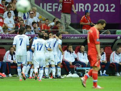 Grecia 1 Rusia 0 Grupo A Eurocopa 2012   Apuntes de Futbol