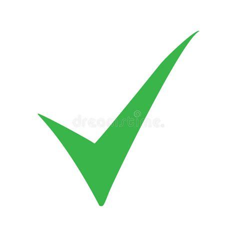 Green Check Mark Icon. Tick Symbol In Green Color. Vector ...