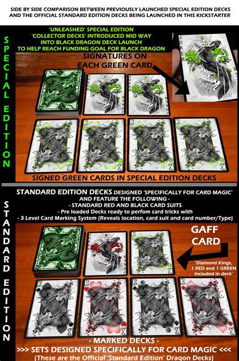 Green Dragon Playing Cards  Standard Edition  Marked Deck ...
