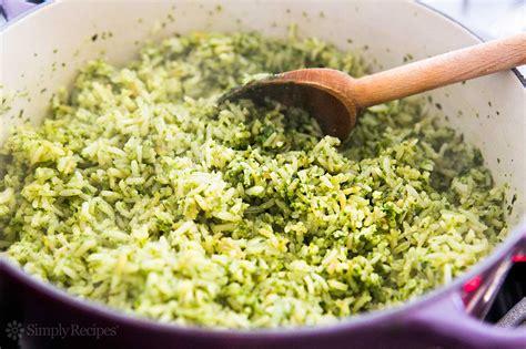 Green Rice Recipe, Arroz Verde   SimplyRecipes.com