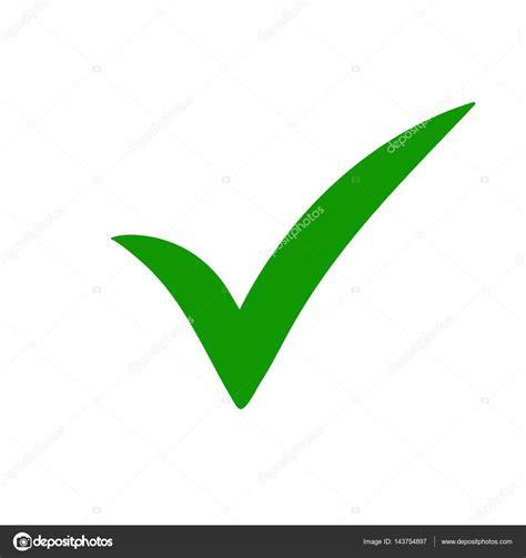Green tick. Green check mark. Tick icon. — Stock Vector ...