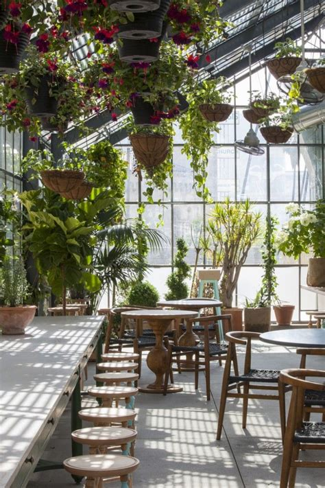 Greenhouse Eating at the Line Hotel, LA | Rooftop, Oasis ...