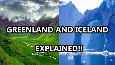 Greenland and Iceland explained | Doovi