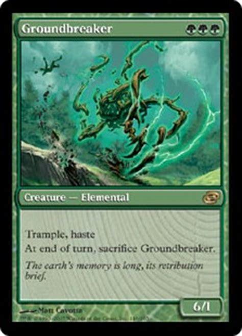Groundbreaker  Magic card