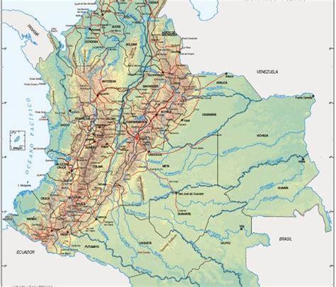 Grupo Colombia: MAPA GEOGRÁFICO DE COLOMBIA