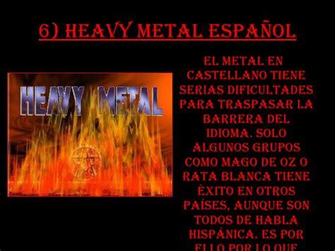 Grupos De Heavy Metal