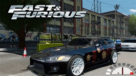 GTA 4 Fast And Furious 1 Honda S2000 Movie Car + Loud ...