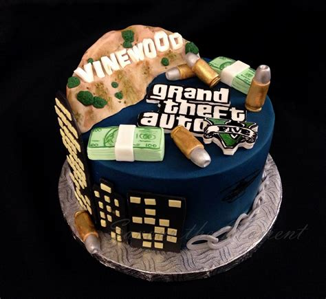 Gta 4 Tbogt Cake Ideas and Designs