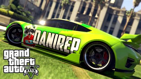 GTA 5   DANIREP VS VEGETTA777! COCHES DE YOUTUBERS EN GTA ...