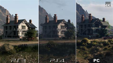 GTA 5 PC vs PS4 vs PS3 Comparação em Imagens e Videos ...