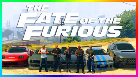 GTA ONLINE FAST AND FURIOUS 8 SPECIAL - FATE OF THE ...