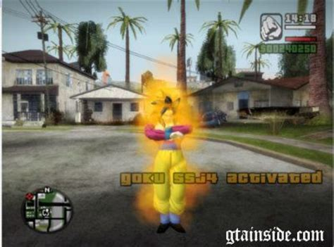 GTA San Andreas Dragon Ball Transformation Mod V3.3 Mod ...