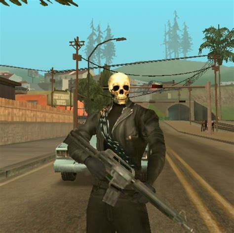 GTA San Andreas Ghostrider v1 for Android Mod   GTAinside.com