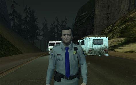 GTA San Andreas GTA V Michael De Santa  Cop  Mod ...