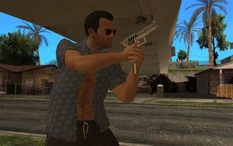 GTA San Andreas GTA V Michael De Santa  Relaxing  Mod ...