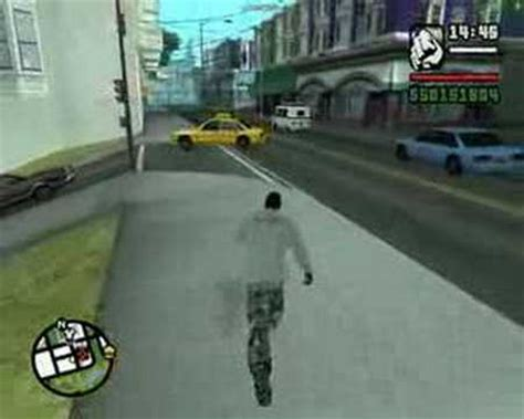 GTA San Andreas - Super Punch Cheat - YouTube