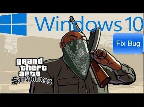 GTA San Andreas Windows 10 Fix Bug   YouTube