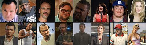 GTA V actors who play the game characters : gaming
