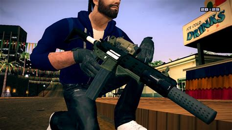 GTA V Carbine Rifle | Grand Theft Auto: San Andreas Skin Mods