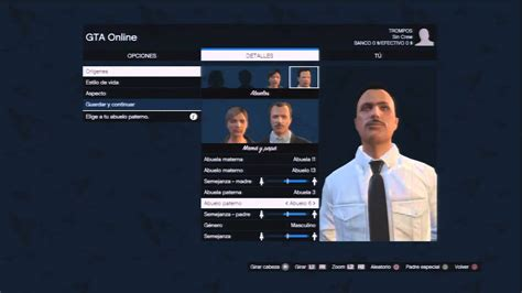 GTA V Crear Personaje Online   YouTube