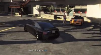 GTA V: Get in Tracey's Car - Orcz.com, The Video Games Wiki
