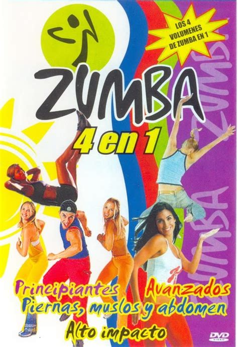 GuacaTorrents: Zumba 4 En 1 Fitness Español