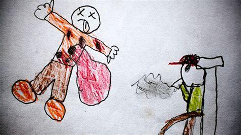 Guatemala. Dibujos de niños reflejan la violencia que ...