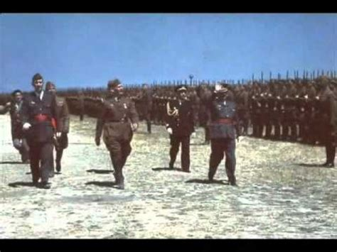 Guerra Civil Española (1936-1939) en color - YouTube