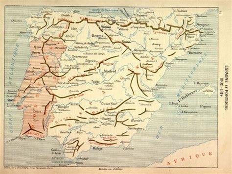 Guerra de la Independencia. Mapas