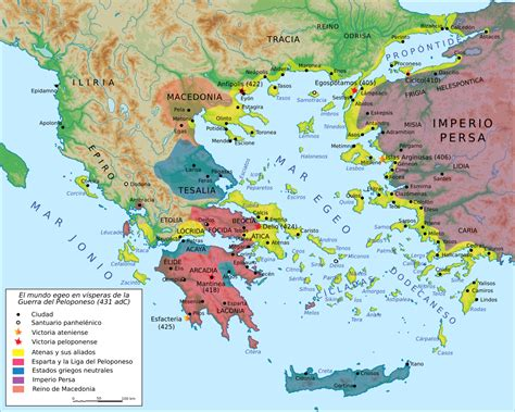 Guerra del Peloponeso - Wikipedia, la enciclopedia libre
