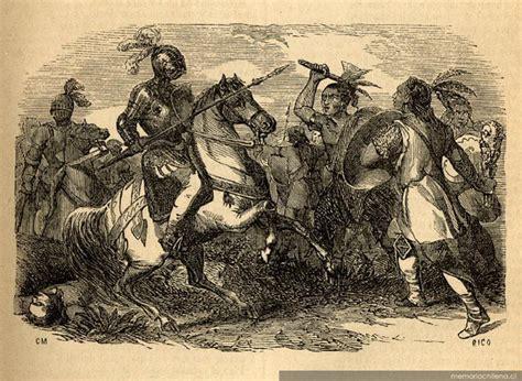 Guerra ritual y guerrilla de los antiguos Mapuche