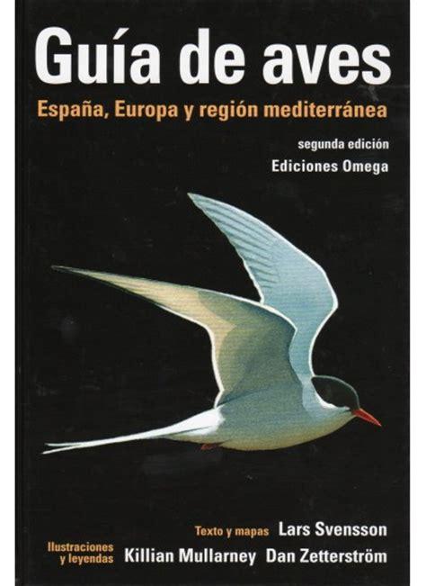 GUÍA DE AVES - Libro - Ediciones Omega